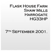 Flash House Farm - Reference