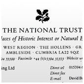 The National Trust - Reference